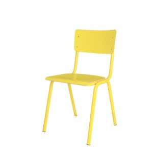 Chair BACK TO SCHOOL HPL yellow - Zuiver
