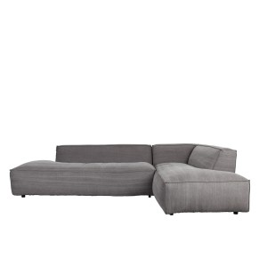 Sofa FAT FREDDY RIGHT COMFORT jasnoszara - Zuiver