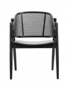 WICKY lounge chair, black-Nordal