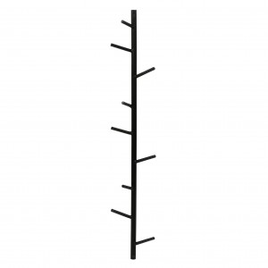 BURANCHI- coat rack ,metal,black -POMAX