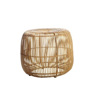 Rattan stool MODERN natural - House Doctor