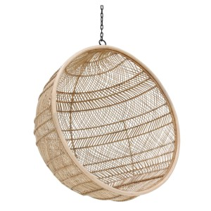 Rattan hanging chair BOHEMIAN natural - HKliving