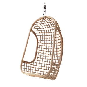 Hanging rattan chair natural - HKliving