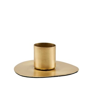 candlestick CIRCLE brass finish - House Doctor