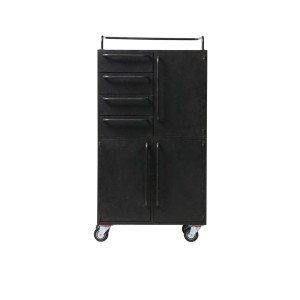Metal Cabinet With Wheels   Be Pure