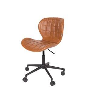 Office chair OMG LL brown - Zuiver