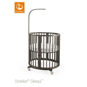 Mini cot STOKKE® SLEEPI™ MINI - hazy grey