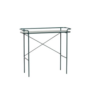 Console table PERF green - Hübsch