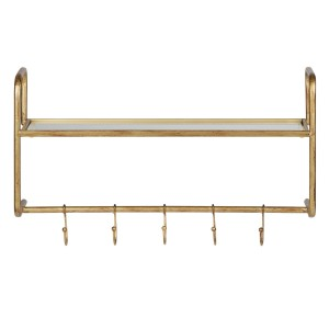 Coatrack HATSTAND antique brass - Be Pure