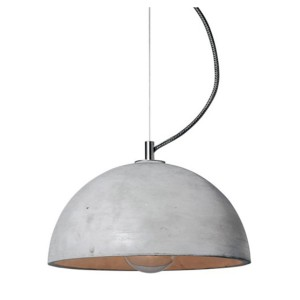 Pendant lamp SFERA - grey