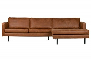 Right corner sofa, Rodeo cognac - Be Pure