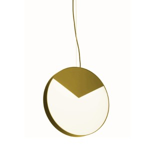 Lampa wisząca MOONLIGHT satin brass - MM Lampadari