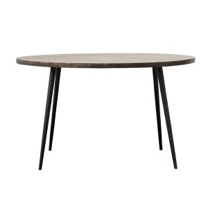 Dining table  CLUB dark brown - House Doctor