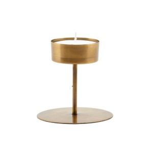 Candlestand ANIT antique brass - House Doctor
