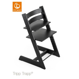 Chair STOKKE TRIPP TRAPP - oak black