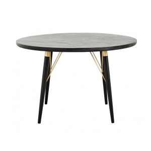 Round table BLACK WOOD - Nordal