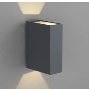 Outdoor wall lamp DRAS graphite