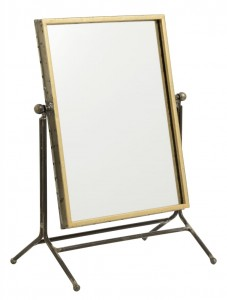 Antique gold table mirror  - Nordal