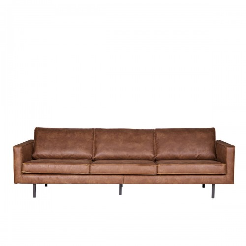 Brilliant Sofa Rodeo 3 Seater Cognac Be Pure Ncnpc Chair Design For Home Ncnpcorg