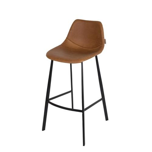 Fantastic Barstool Franky Cognac Dutchbone Lamtechconsult Wood Chair Design Ideas Lamtechconsultcom