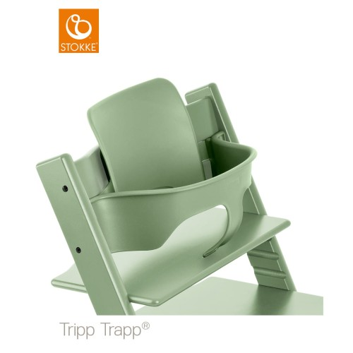 Stupendous Baby Set Stokke Tripp Trapp Moss Green Pabps2019 Chair Design Images Pabps2019Com