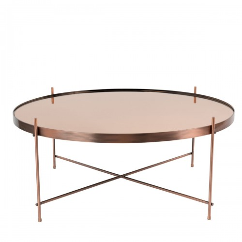 coffee table cupid xxl copper zuiver nordic decoration home. Black Bedroom Furniture Sets. Home Design Ideas