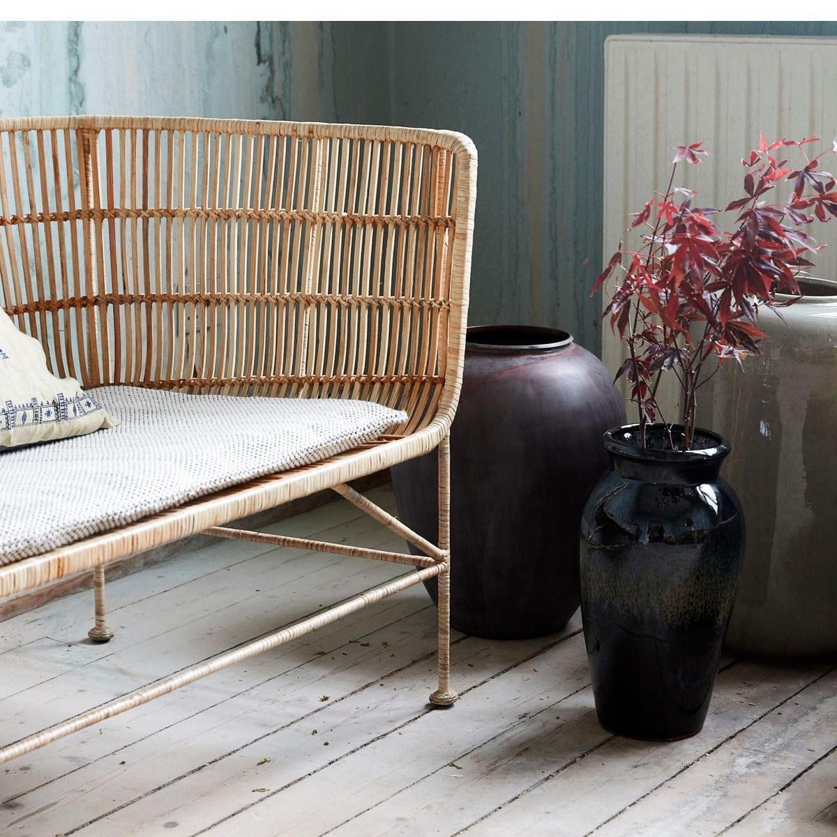 sofa rattanowa cuun nature house doctor nordic decoration home. Black Bedroom Furniture Sets. Home Design Ideas