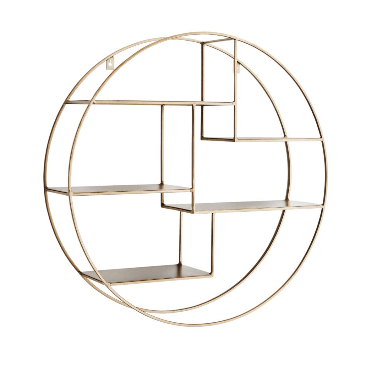 Round wall shelf madam stoltz nordic decoration home round wall shelf madam stoltz ccuart Images