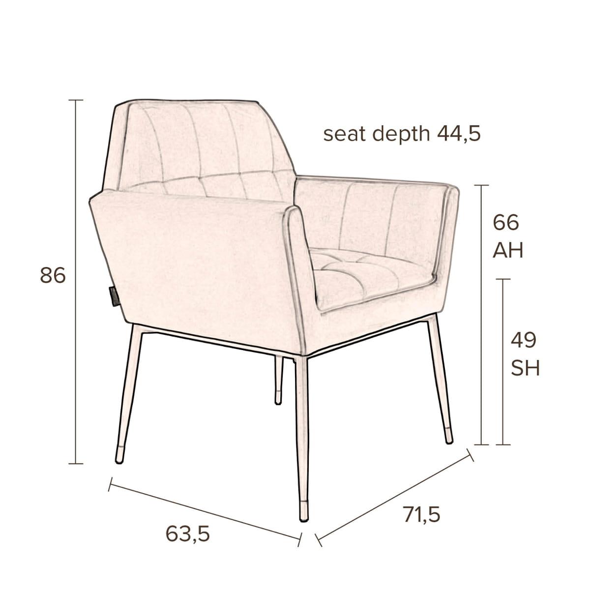 Excellent Armchair Kate Navy Blue Dutchbone Download Free Architecture Designs Grimeyleaguecom