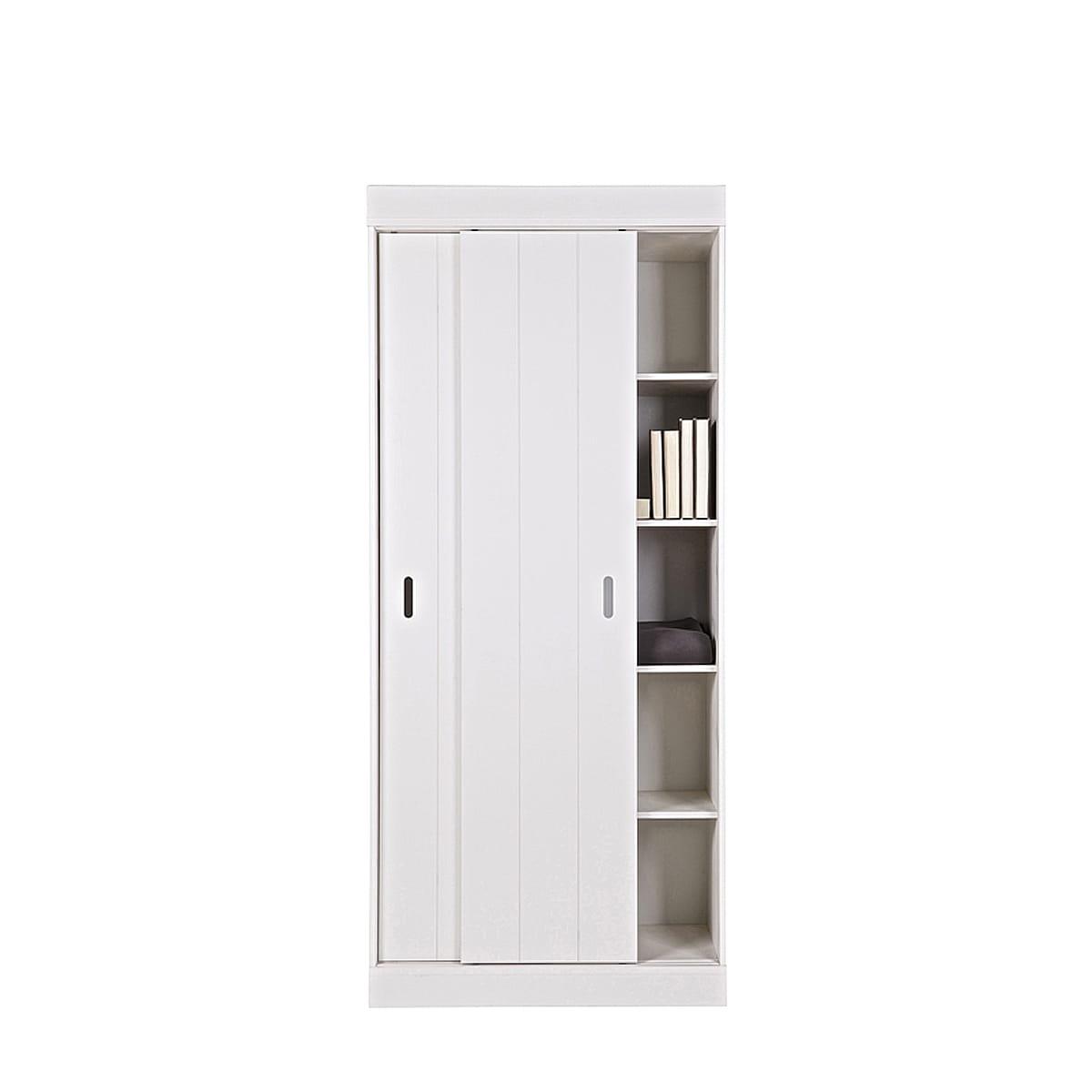 row cabinet shelves sliding doors