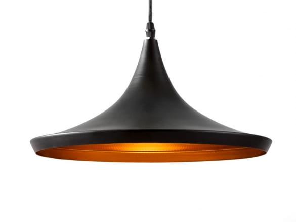 Pendant Lamp Bet Shade Wide Black, Black And Gold Pendant Lamp Shade