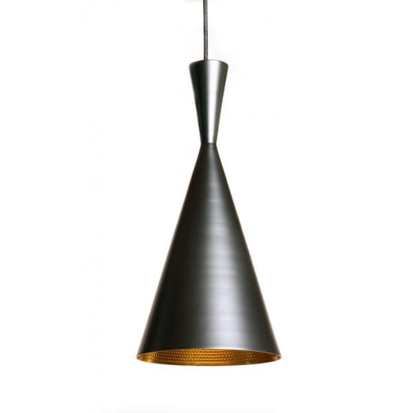 Pendant Lamp Bet Shade Tall Black, Black And Gold Pendant Lamp Shade