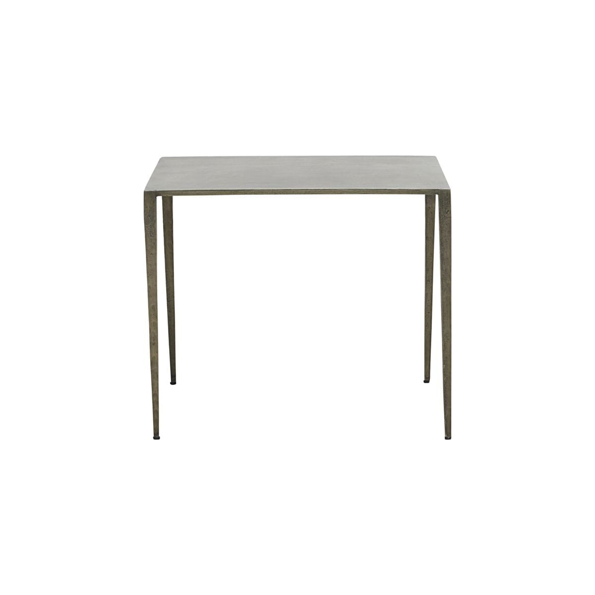 Side table RANCHI L nickel - House Doctor